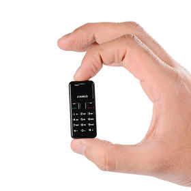 全球最小手机 Zanco Tiny T1  袖珍手机 创意礼品
