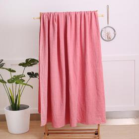 龙之涵 水洗纱布床单枕巾三件套