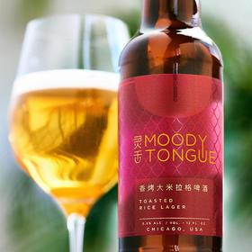 灵舌香烤大米拉格啤酒355毫升