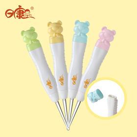 日康带灯挖耳勺儿童发光耳勺掏耳勺带光婴儿安全可视夜光扣耳勺