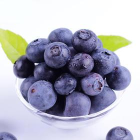 四川蓝莓125g*4盒  果香浓郁  甜度高  入口清脆