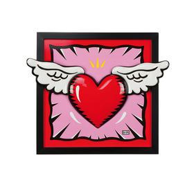 Goebel 《爱的翅膀》陶瓷画