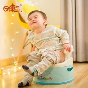 日康成长宝宝坐便器 男女座便器婴幼儿童尿壶尿盆便盆小马桶安全