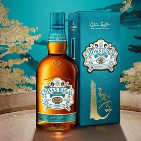芝华士水楢桶限定版苏格兰调配威士忌700毫升