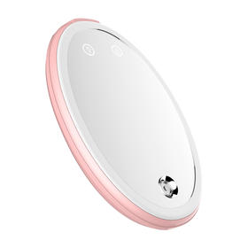 匹奇充电宝式纳米喷雾补水仪LED灯蒸脸器冷喷便携镜子美颜灯脸部加湿FS-041