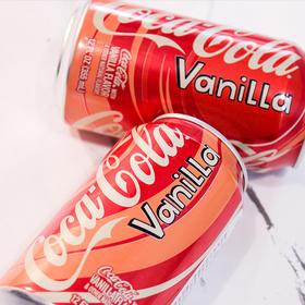 可口可乐香草味汽水355毫升