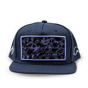 野去太空棒球帽