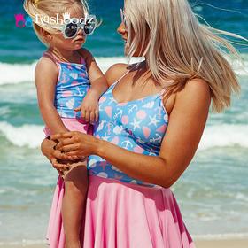 澳大利亚进口Rashoodz   妈咪吊带裤裙连体泳衣沙滩衣