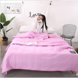 【床上用品】水洗棉夏凉被亲肤柔水洗棉夏凉被空调被