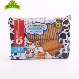 【进口零食】Ghangai品牌牛奶饼干400g香浓牛奶味酥脆代餐饼办公休闲糕点点心
