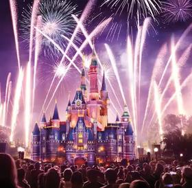 迪士尼官网门票两日联票(原价)