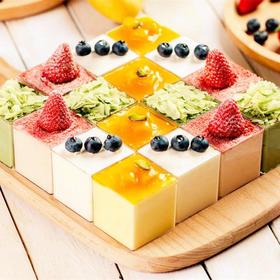 青春岁月 | 企业下午茶最爱多拼慕斯杯生日蛋糕