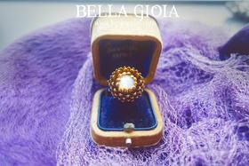 古典主义珍珠母贝戒指