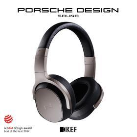 【特惠】英国顶级发烧有线耳机 KEF PORSCHE DESIGN SPACE ONE 保时捷设计主动降噪头戴发烧耳机