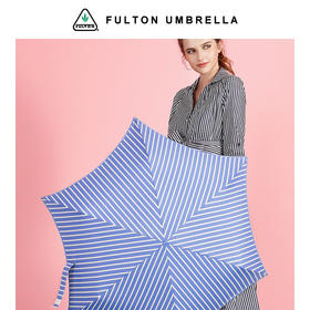 FULTON 超轻 UPF50+ 防晒伞 Candy Stripe