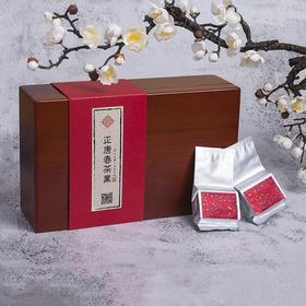 正唐春 武夷岩茶 老枞水仙 特级 正岩 树龄60年+ 高端竹制礼盒 内含30袋 高档礼盒顺丰包邮