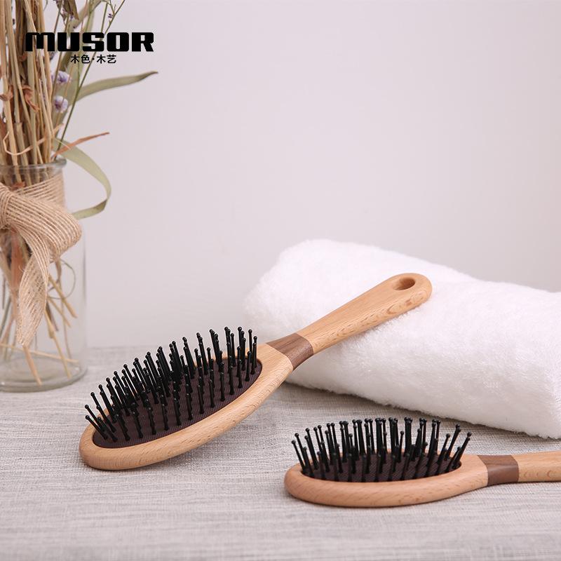【原创设计】实木按摩梳 创意木质气囊梳