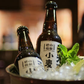 【一口爽!1755颗小麦芽成就1瓶佳酿!】碧山精酿啤酒 小麦啤 艾尔啤 皮尔森  6瓶装/组合装 330ML*6瓶