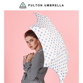 FULTON 超轻 UPF50+ 防晒伞 Pastel Spot