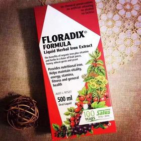 Floradix铁元红铁500ml