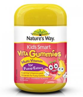 【新西兰直邮】Nature's Way 多元维生素预防挑食软糖60粒