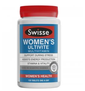 【新西兰直邮】Swisse女性复合维生素 新西兰版 Swisse Women's Ultivite Formula 1 120粒