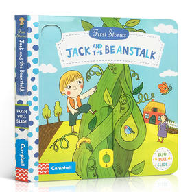 英文原版 First Stories Jack And The Beanstalk纸板操作活动书