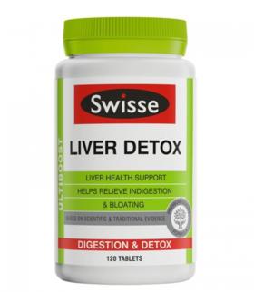 【新西兰直邮】Swisse护肝片新西兰版 Swisse Liver Detox 120片