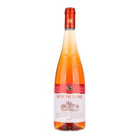 法国专家俱乐部卢瓦尔桃红葡萄酒-雕花瓶750ml干型