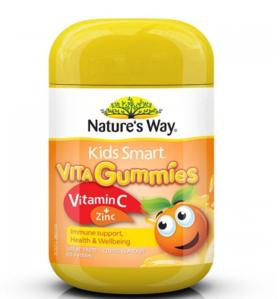 【新西兰直邮】Nature's Way儿童维C+锌软糖 60粒
