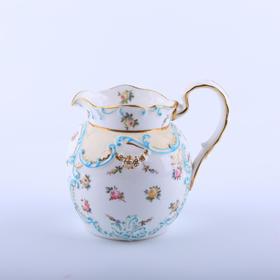 【菲集】1900年英国下午茶小巧型奶油壶 瓷器 跨境直邮