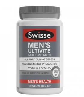 澳洲Swisse男士复合维生素 120粒/瓶