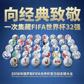 2018年世界杯纪念银章送俄罗斯世界杯纪念钞一张