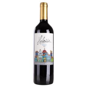 智利海洛伊丝梅洛红葡萄酒750ml干型