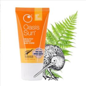 【新西兰直邮】Oasis Beauty 纯天然防晒霜 SPF30+ 50ml