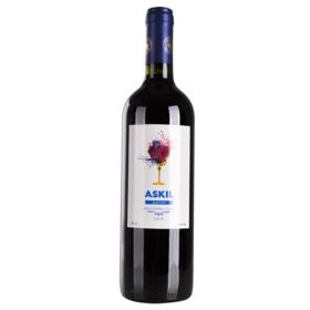 智利爱丝姬尔梅洛红葡萄酒750ml干型