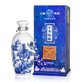 50°杏花村汾酒老白干十年陈酿(蓝盒)500ml清香型白酒