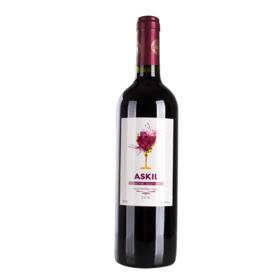 智利爱丝姬尔赤霞珠红葡萄酒750ml干型