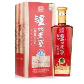 52°泸州老窖真藏头曲A10 500ml浓香型白酒