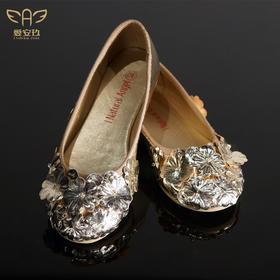 爱安玖香槟色公主鞋  AAJ8031