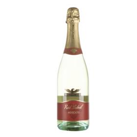 澳大利亚禾富红标莫斯卡托甜白起泡葡萄酒750ml甜型高泡