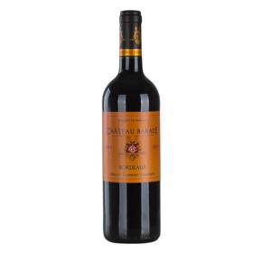 法国巴瑞德红葡萄酒750ml干型