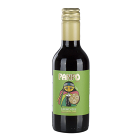 智利番婆佳美娜红葡萄酒187ml干型
