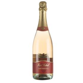 澳大利亚禾富红标莫斯卡托桃红起泡葡萄酒750ml甜型高泡