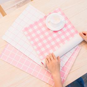 简约pu皮小清新防水防烫防油家用透明茶几胶垫 文具
