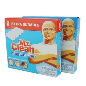 美国原产  Mr. Clean 清洁先生强效海棉魔力擦