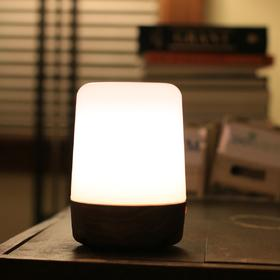DomiLamp 智慧LED台灯,智能互动,高端实木|2 款(美国)