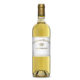 【闪购】瑞莎古堡珍宝甜白葡萄酒2011/Carmes de Rieussec 2011