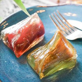 有买即送 买2份送一包阿克苏红枣 网红晶晶粽【开袋即食 Q弹顺滑 冰沁通透 经典3种口味】