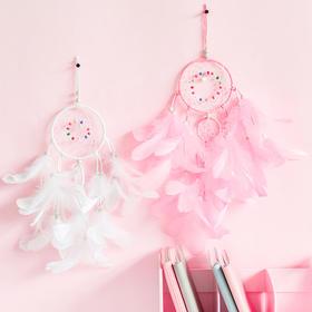 印第安少女捕梦网挂件房间diy装饰生日礼物 文具